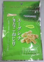 """Euglena (Japanese name; Midorimushi) Kinakonejiri"", gentle sweetness of soybean flour"